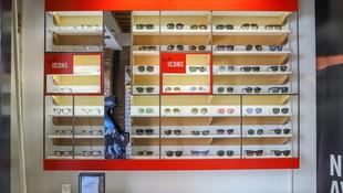 Expositor de gafas Ray-Ban