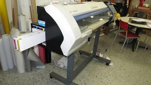 Plóter de impresión en gran formato