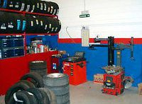 Cambio de neumáticos en Aranguren - Navarra