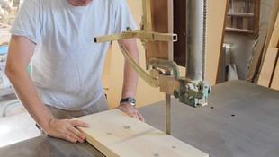 Artesanos de la madera en el centro de Madrid