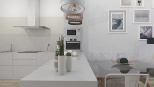 Proyecto de diseño de interiores para promoción en Orihuela Costa.