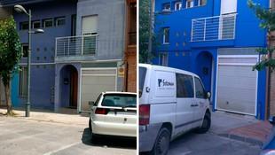 Pintura de fachadas (antes y después)