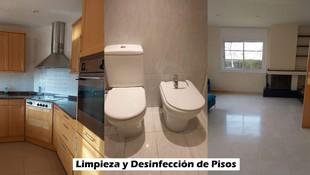 Desinfección de pisos