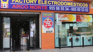 FACTORY ELECTRODOMÉSTICOS ARCO NORTE EN DOS HERMANAS
