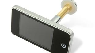 Mirilla electrónica para puertas de vivienda económica