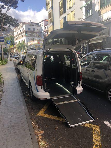 Taxis adaptados a minusválidos en Santa Cruz de Tenerife