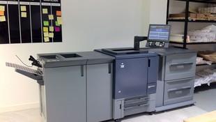 Impresión Digital Pequeño Formato Konica Minolta Bizhub Press C1070