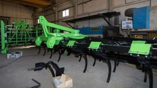 Máquina agrícola en Palencia