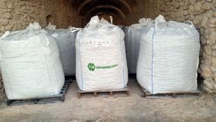 Hidróxido cálcico en Big Bags lista para su distribución