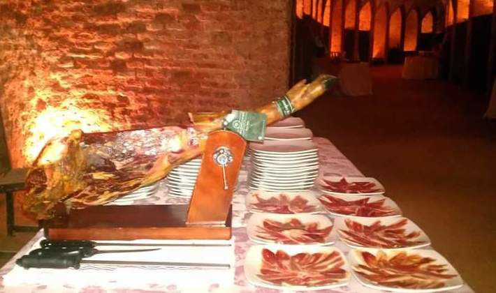 Corte de jamón, Real Cortijo de Aranjuez