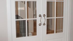 Puerta de interior lacada en blanco