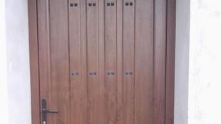 Puertas de aluminio de diferentes modelos