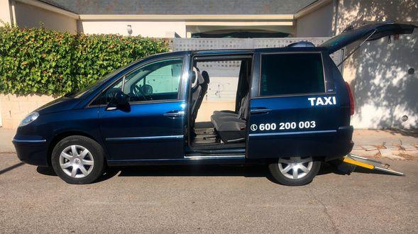 Taxi de largo recorrido en Ocaña
