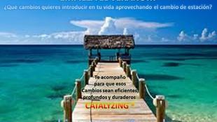 Llega el verano - Catalyzing - Acompañamiento en la mejora
