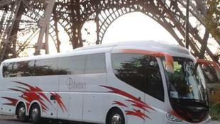 Autobús en París