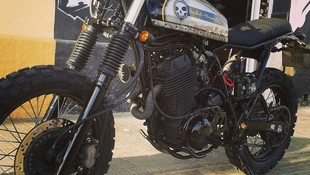 yamaha xt by break skull choppers