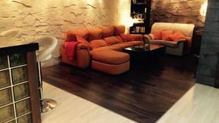 woodmagik,separa ambientes con el color del suelo