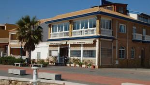 Restaurante en la playa de Puçol
