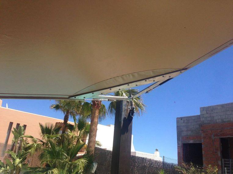 Carpas y toldos en Ibiza