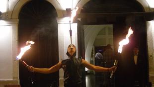 Espectáculos con fuego en Alicante