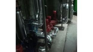Tratamiento antivibratorio de sala de calderas en Madrid