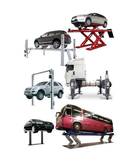 Elevadores de vehículos