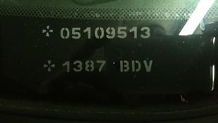 Grabación del número de matrícula y/o del bastidor del vehículo (VIN, número de identificación del vehículo) en las lunas fijas y móviles del mismo sin alterar las propiedades físicas