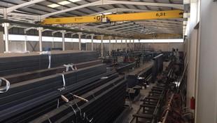 Estructuras metálicas para fábricas