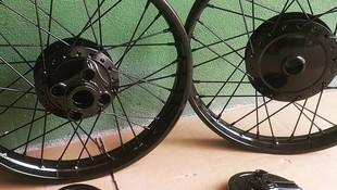 Pintar bicicletas Mejorada del Campo