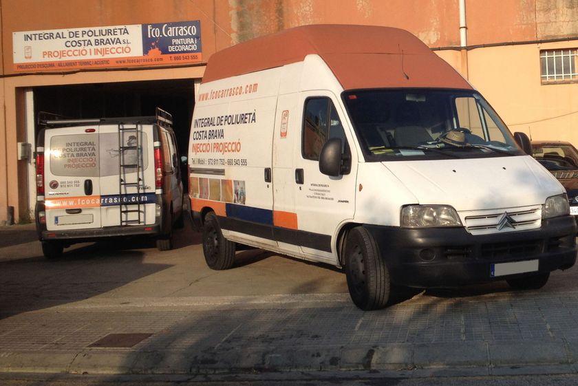 Integral de Poliuretà en Palafrugell, Girona