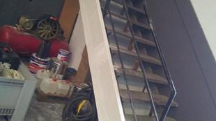 Placas de fibrosilicato en escalera Barcelona