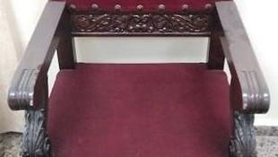 Carcoma activa en mobiliario patrimonial