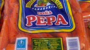 Zanahoria envasada en bolsa de 5kg