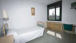 Habitación individual de nuestra residencia en Oviedo