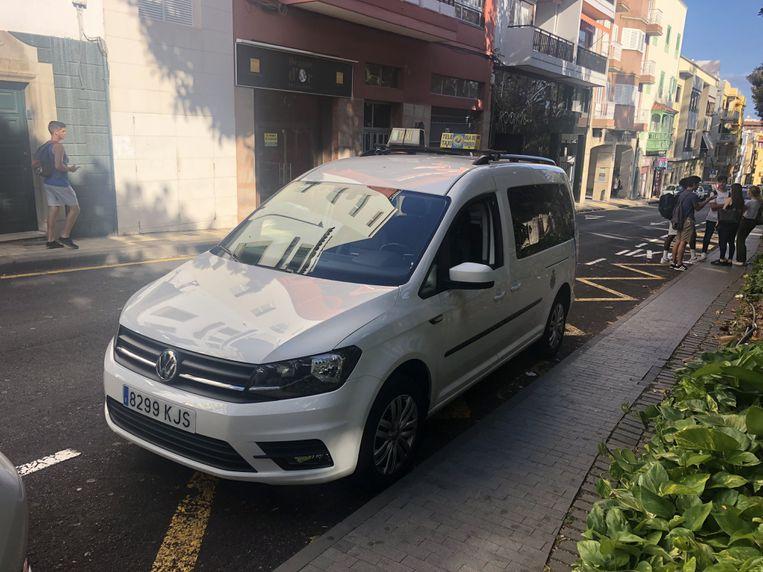 Taxis de nueve plazas en Santa Cruz de Tenerife