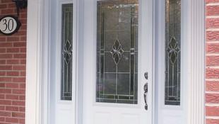 Puertas de exterior de PVC