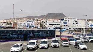 17/07/2020, Puerto de las Nieves, Agaete; 11 Taxistas de 6 de los 21 municipios de Gran Canarias. (Agaete, Guía, Maspalomas, Telde, San Mateo y Las Palmas de Gran Canaria).