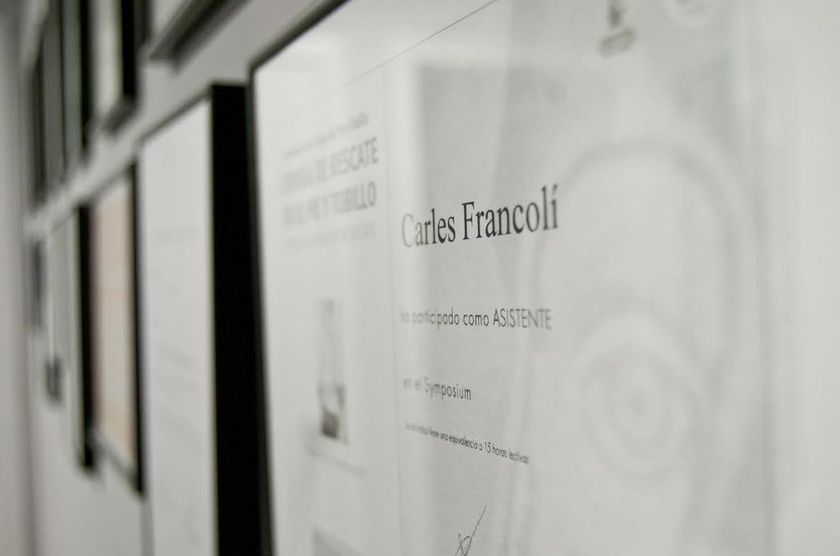 Clínica Podológica Francolí en Sant Vicenç de Castellet - Barcelona