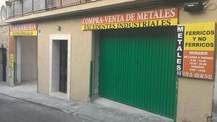 Compra y venta de metales en Recuperaciones Galán