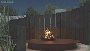 Fuegos de jardín