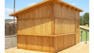 Empresa de fabricación de chiringuitos de playa en Sant Antoni de Vilamajor