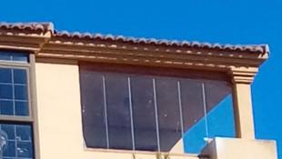 Cortinas de cristal en Roquetas