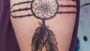 Tatuaje atrapasueños