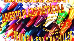 COMIENZO DEL CURSO 2020-21