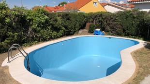 Baldosas porosas para piscinas en Valmojado, Toledo