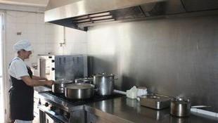 Cocina donde preparamos la comida