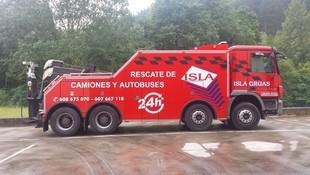 Servicio de grúa en Bilbao