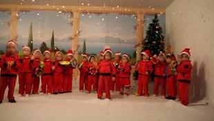 Representación de Navidad