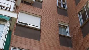 Reparación de fachada de ladrillo visto. Estado anterior (2)