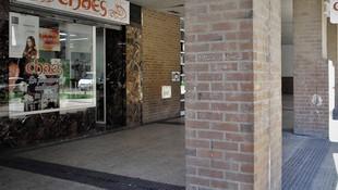 Fachada de la peluquería en Zaragoza